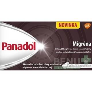 PANADOL Migréna 250 mg 20 tabliet