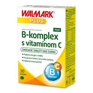 WALMARK B-komplex PLUS s vitamínom C tbl cmúľacie 1x30 ks