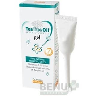 DR. MÜLLER Tea Tree oil gél pre intímnu hygiénu 7 x 7,5 ml