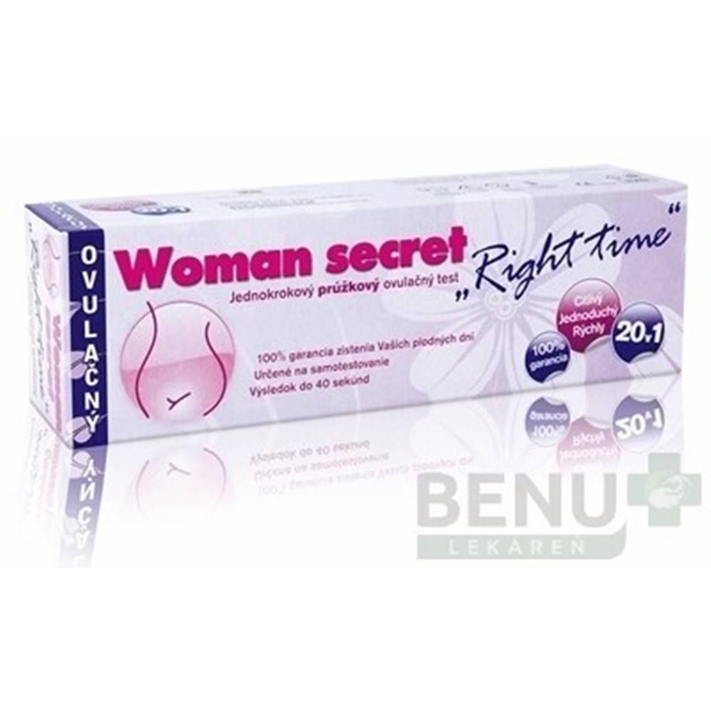 Woman secret WOMAN SECRET Right time ovulačný test 20 kusov