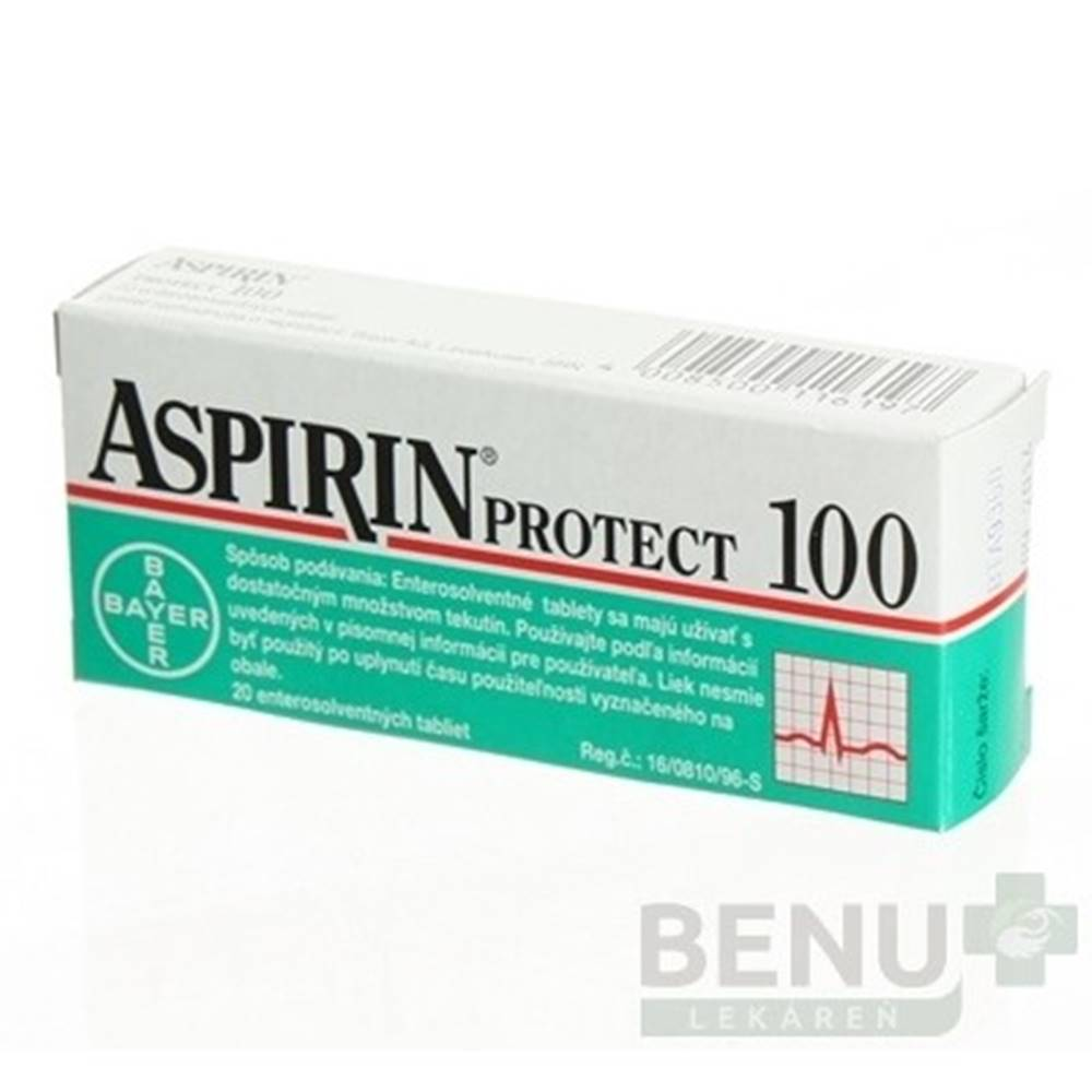 ASPIRIN ASPIRIN Protect 100 mg 20 tabliet