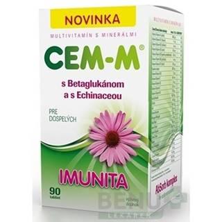 SALUTEM Cem-m pre dospelých imunita 90 kusov