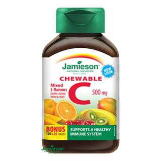 JAMIESON VITAMÍN C 500 mg mix tbl 120
