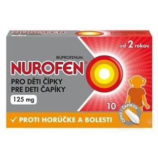 NUROFEN Čapíky pre deti 125 mg 10 kusov