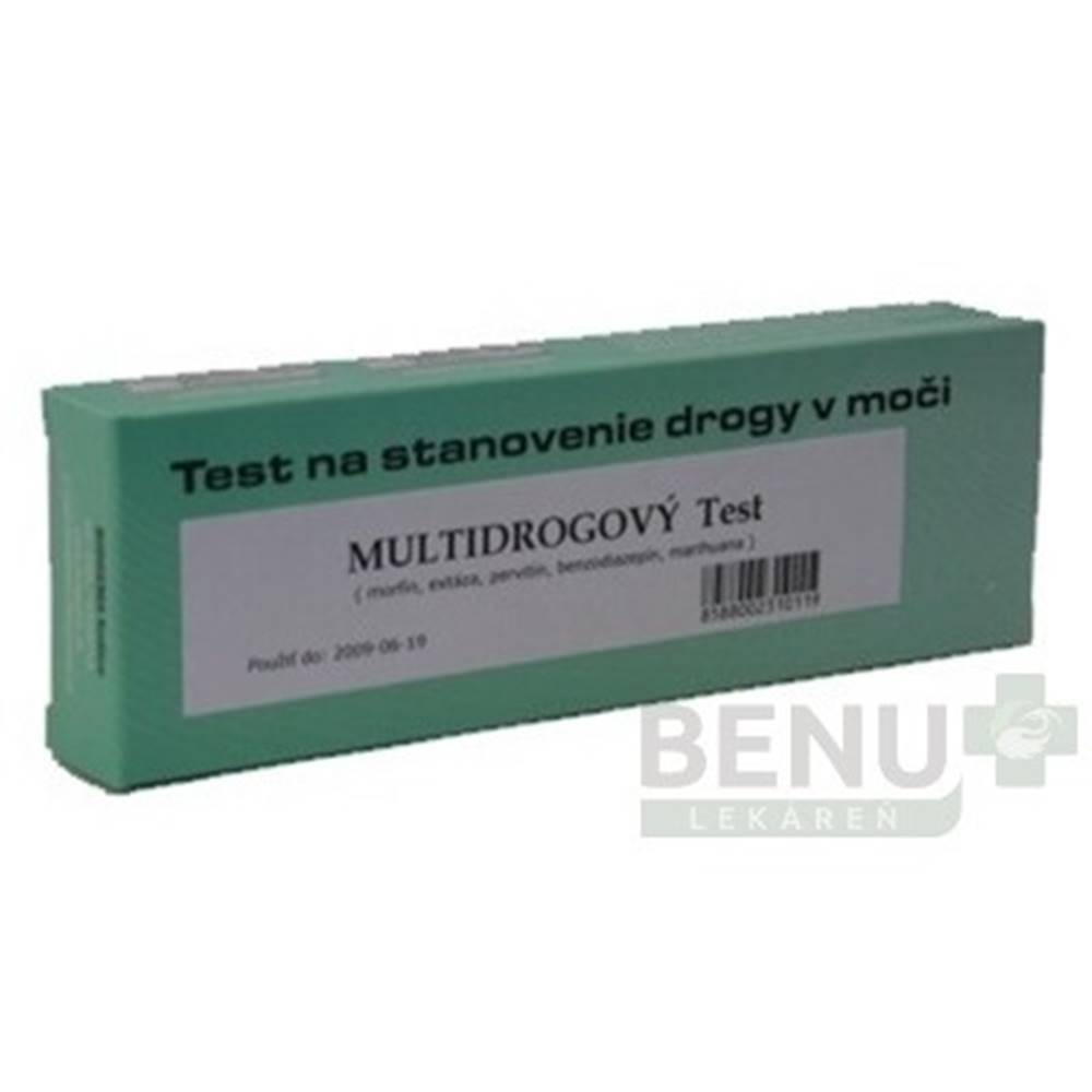 Biogema BIOGEMA Multidrogový test jednokrokový 1 kus