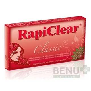 RapiClear Tehotenský test Classic 1ks