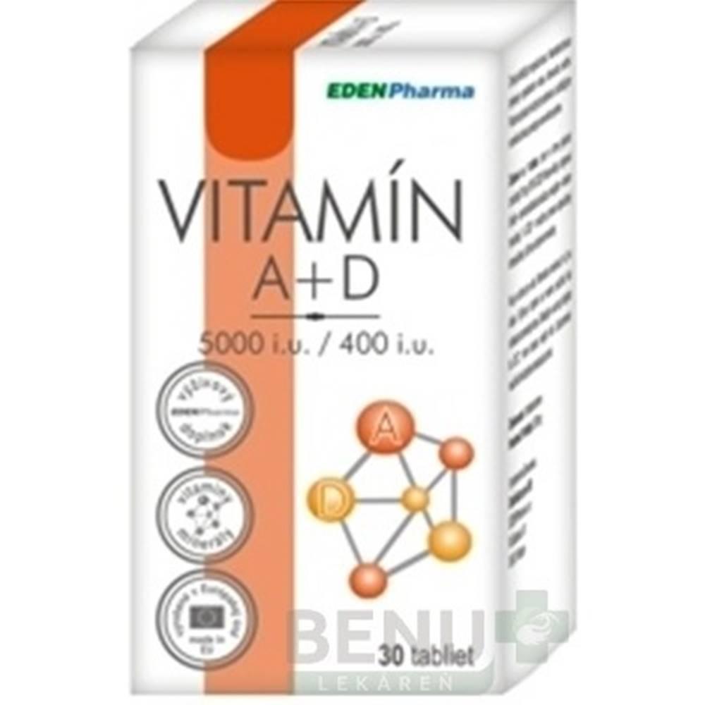 EDENPHARMA Vitamín A + D 30...