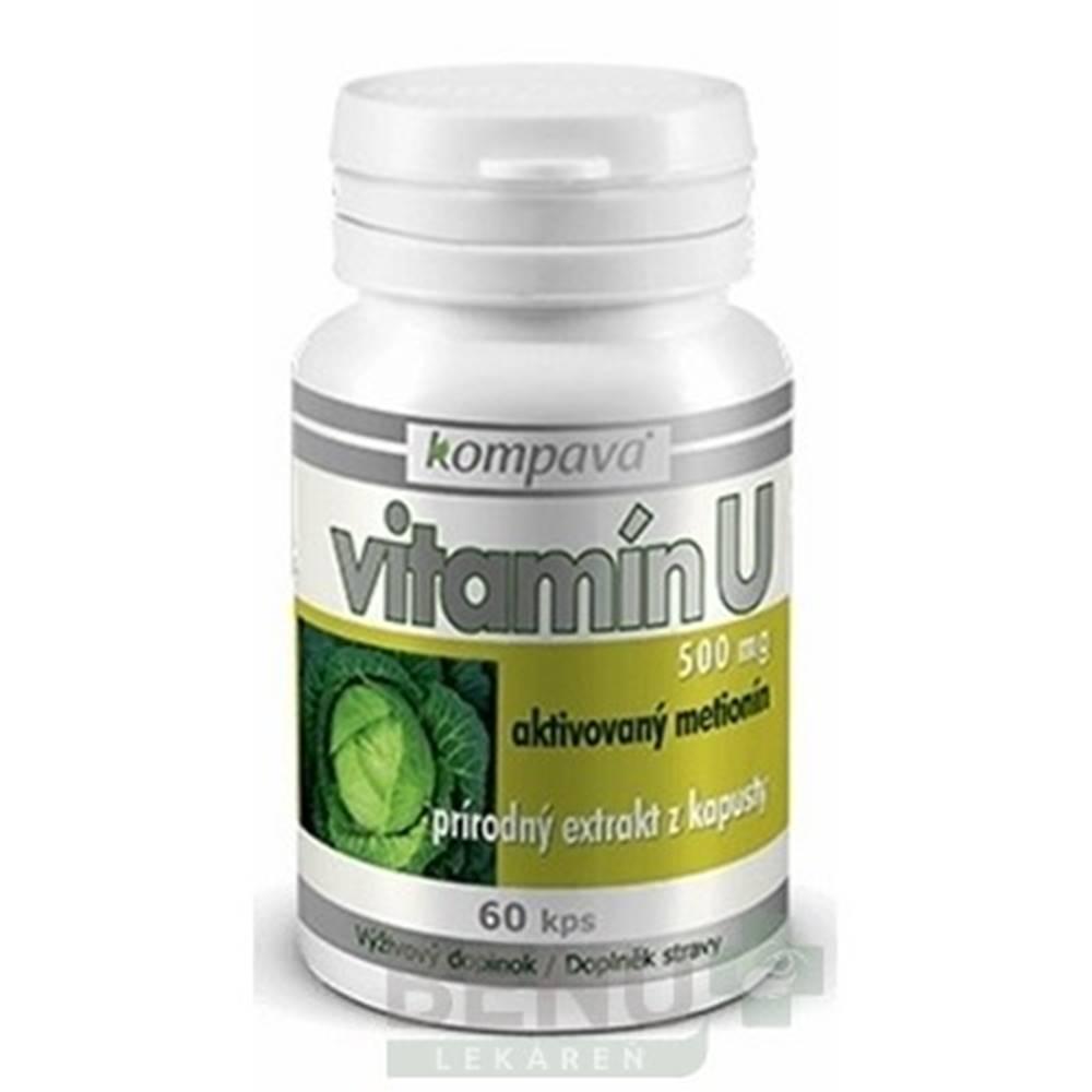 Kompava KOMPAVA Vitamín U 500 mg 60 kapsúl