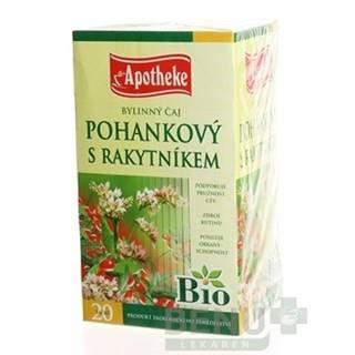 APOTHEKE BIO linný čaj pohánkový s rakytníkom 20 x 1,5 g