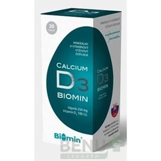 BIOMIN CALCIUM S VITAMÍNOM D3 cps 30