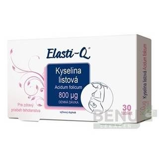 ELASTI-Q Kyselina listová 800 30 tabliet