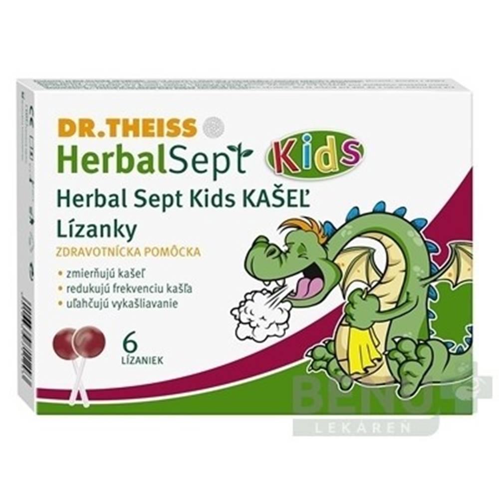 Dr. Theiss Dr.Theiss HerbalSept Kids KAŠEĽ 6ks
