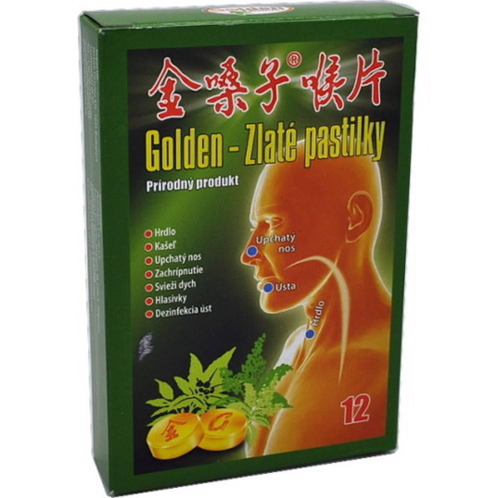 Golden Golden Zlaté pastilky 12ks