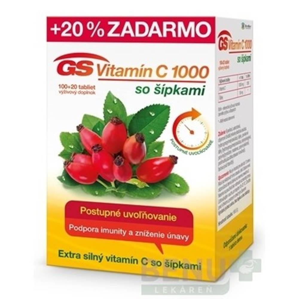 Green swan GS Vitamín C 1000 so šípkami tbl 100+20