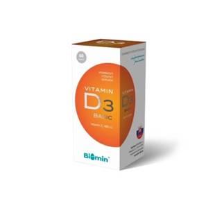 BIOMIN Vitamín D3 400 I.U. 60 kapsúl