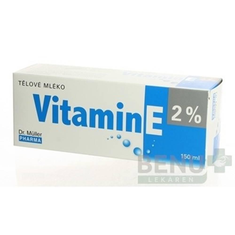 DR. MÜLLER Dr. Müller VITAMÍN E 2% Telové mlieko 150ml