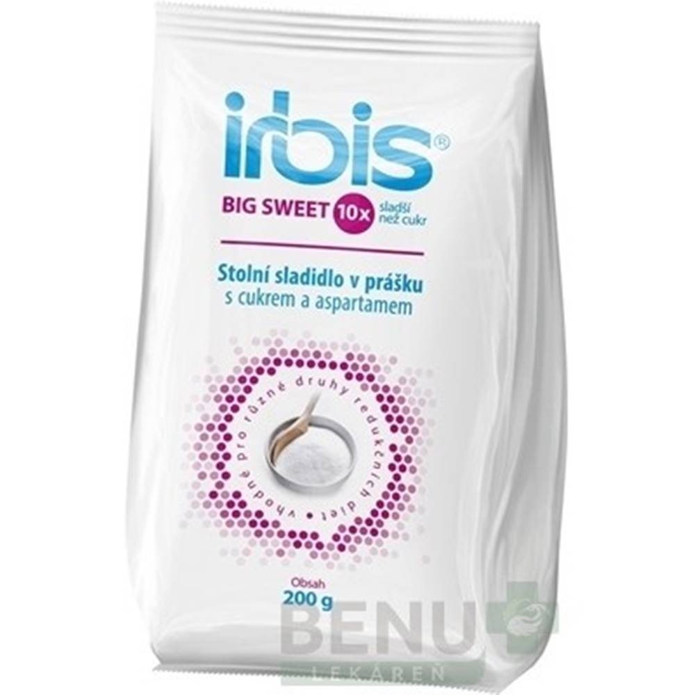 Irbis IRBIS Big sweet stolové sladidlo v prášku 200 g