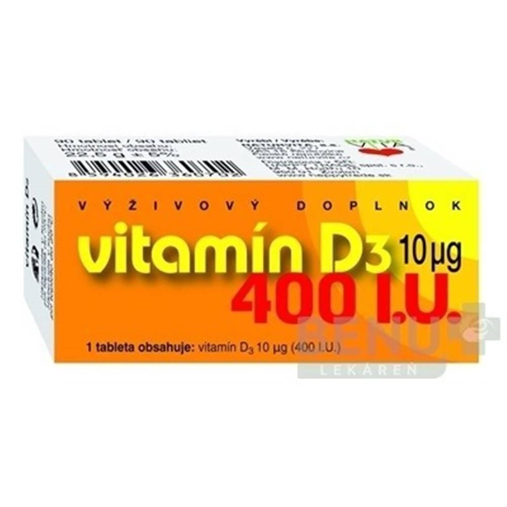 Naturvita NATURVITA Vitamín D3 10 (400 I.U.) 90 tabliet