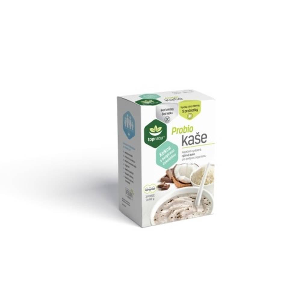 Topnatur TOPNATUR Probio kaša kokos s belgickou čokoládou 3 x 60 g