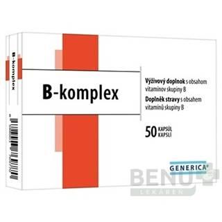 GENERICA B-komplex 50ks