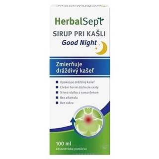 HerbalSept SIRUP PRI KAŠLI Good Night 1x100 ml
