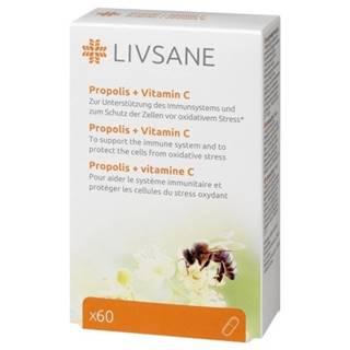 LIVSANE Propolis + Vitamín C tbl 60