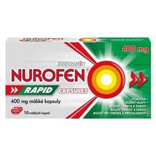 NUROFEN Rapid 400 mg 10 kapsúl