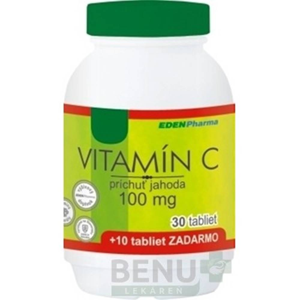 EDENPHARMA Vitamín C 100 mg...