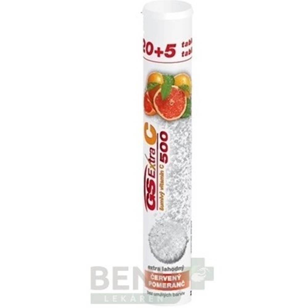 Green swan GS Extra C 500 šumivý červený pomaranč 20 + 5 šumivých tabliet ZADARMO
