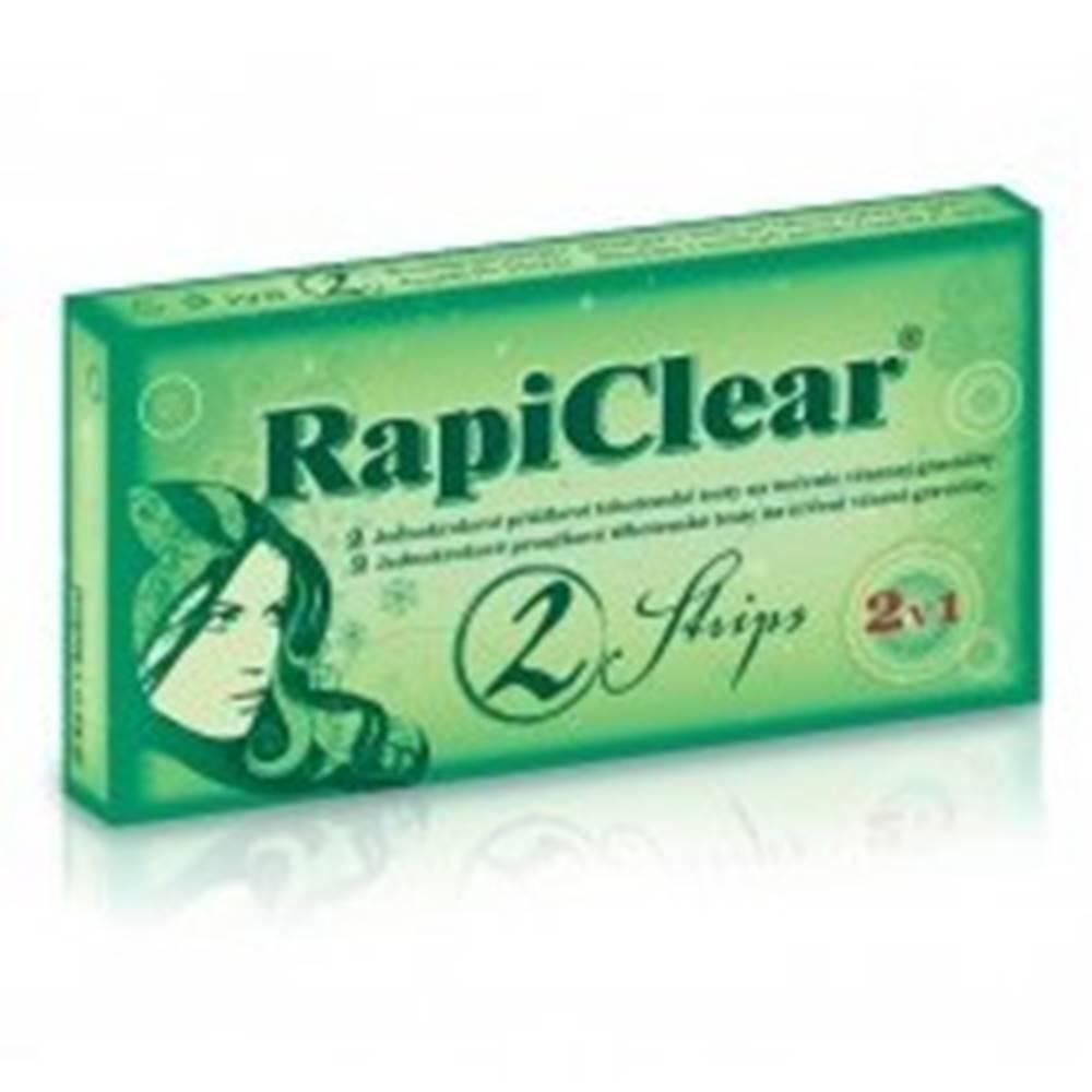 Rapiclear RAPICLEAR Tehotenský test 2 Strips 1 kus
