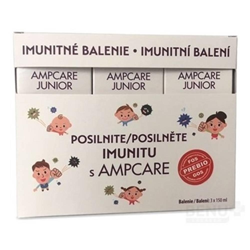 SkinMedical AMPCARE Junior imunitné balenie sirup 3 x 150 ml