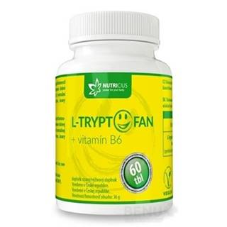 NUTRICIUS L-tryptofan + vitamín B6 60 tabliet