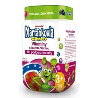 WALMARK Marťankovia gummy vitamíny s bazou čiernou 50 kusov
