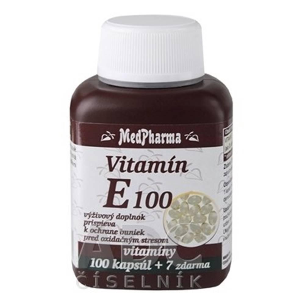 Medpharma MEDPHARMA Vitamín E 100 100 + 7 tabliet ZADARMO
