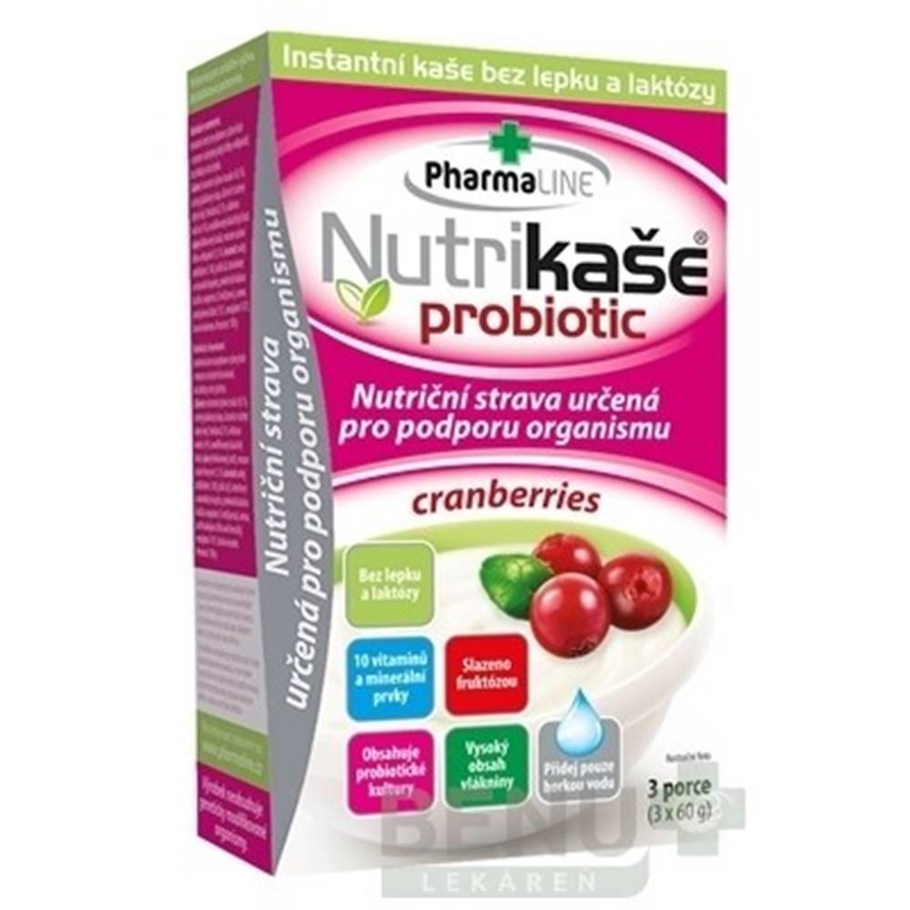 PharmaLINE NUTRIKAŠA Probiotic cranberries 3 x 60g