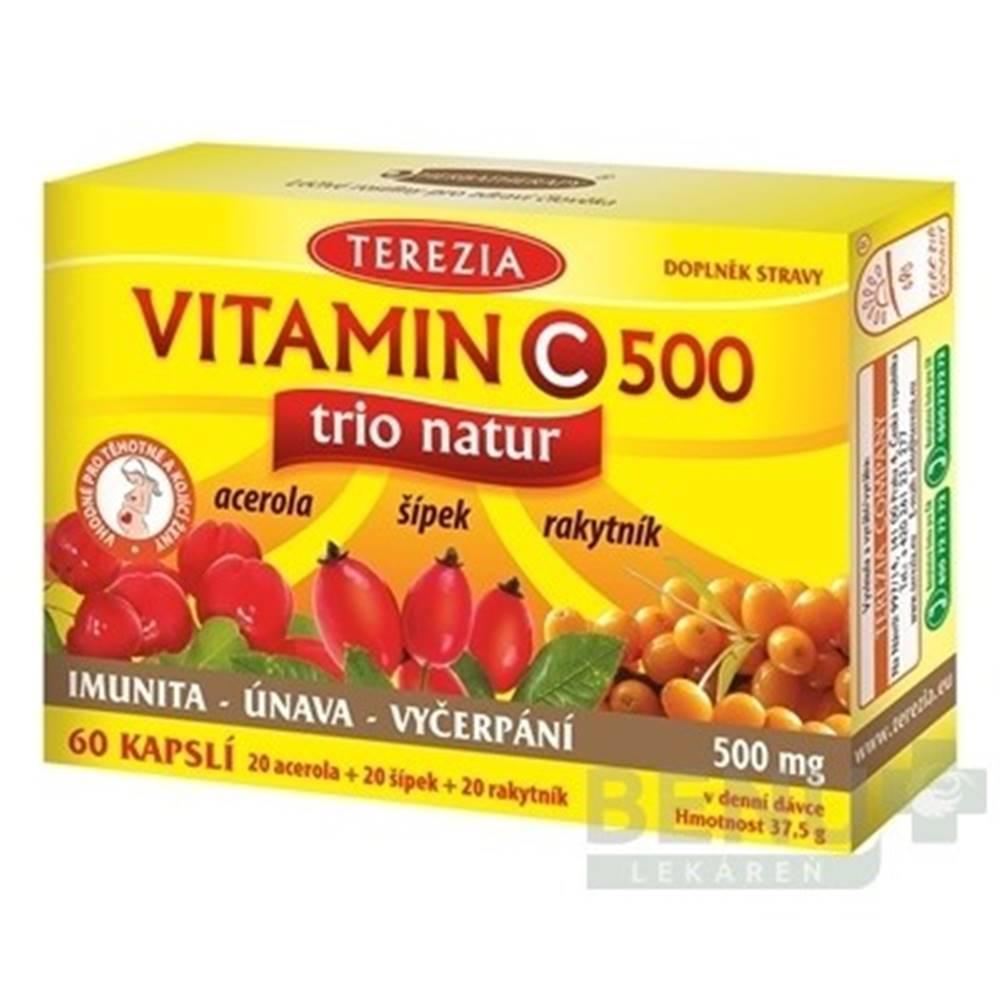 TEREZIA TEREZIA Vitamín C 500 trio natur 60 kapsúl