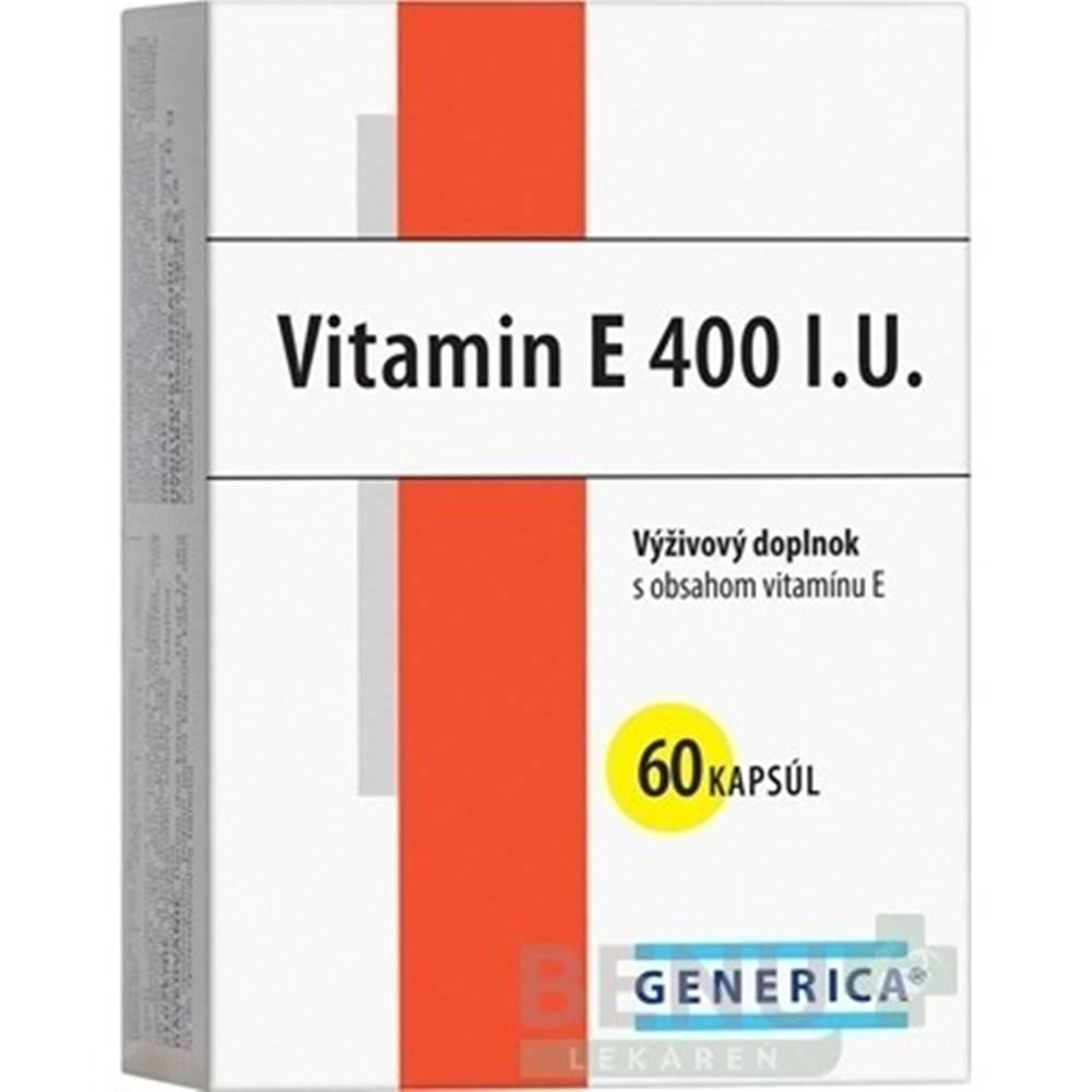 Generica GENERICA Vitamín E 400 I.U. 60 kapsúl