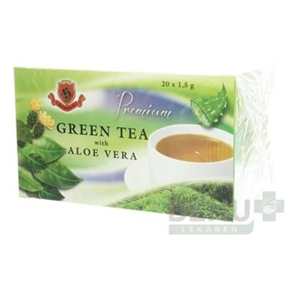 Herbex HERBEX Premium GREEN TEA S ALOE VERA 20x1,5 g 20x1,5g
