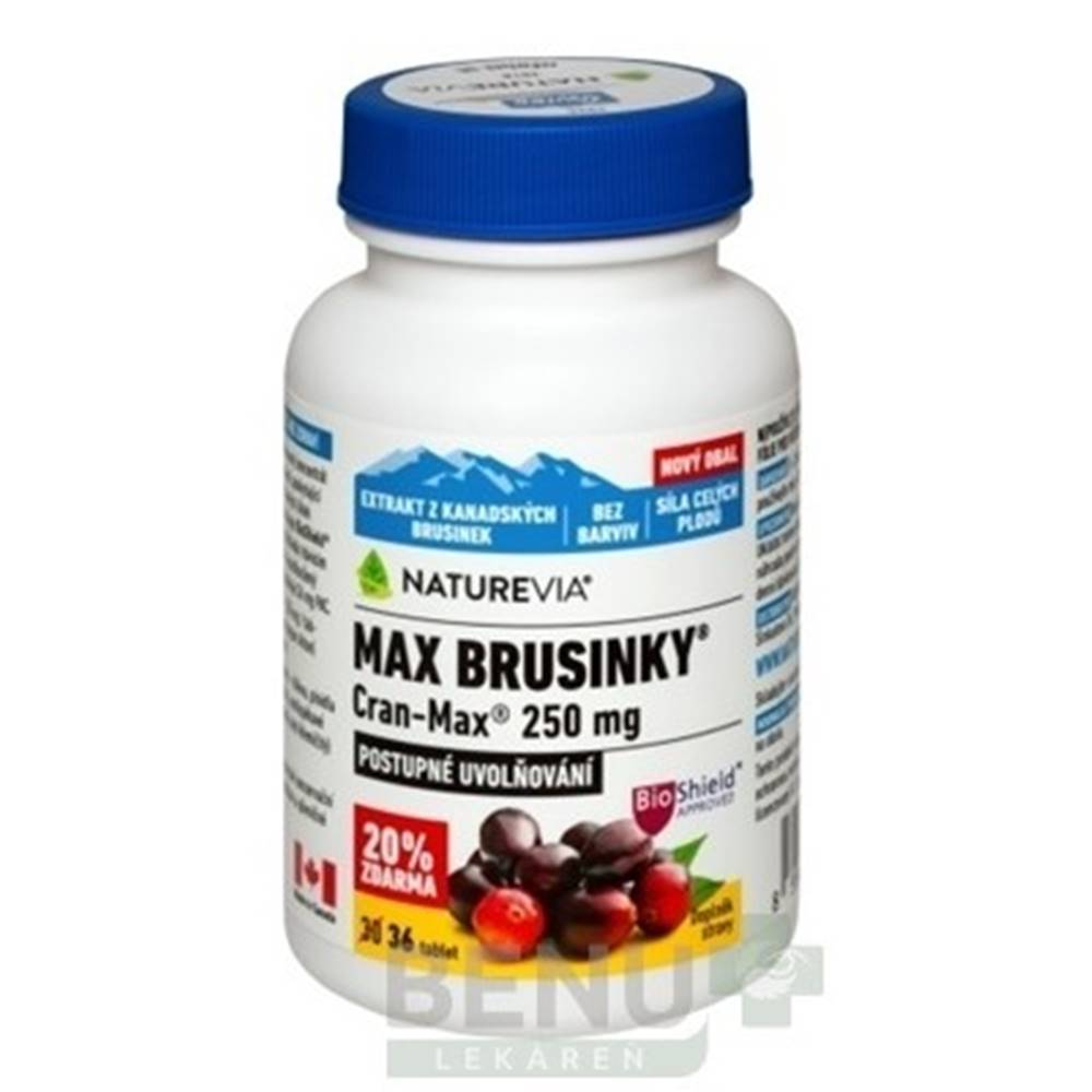 SWISS NATUREVIA SWISS NATUREVIA Max brusnice cran-max 250 mg 36 tabliet