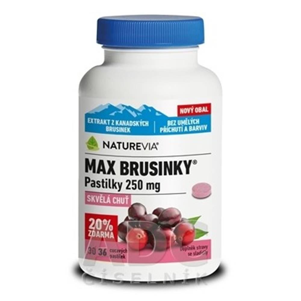 SWISS NATUREVIA SWISS NATUREVIA MAX BRUSNICE pastilky 250 mg 1x36 ks pas ora 30+6