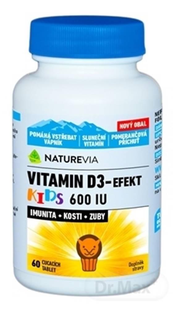 Swiss Natural Swiss Naturevia vitamin d3-efekt kids 600 i.u.