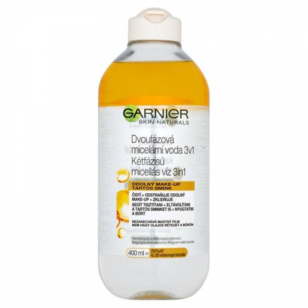 Garnier GARNIER Skin Naturals Dvojfázová Micelárna voda