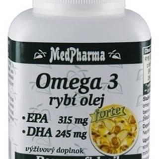 Medpharma Medpharma Omega 3 rybí olej forte - epa, dha