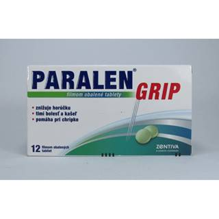 Paralen Grip 12 tbl
