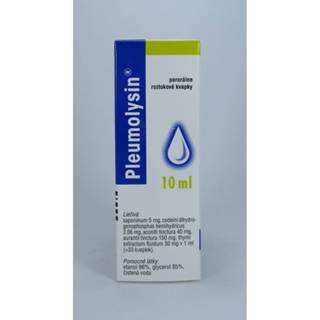 Pleumolysin 10 ml