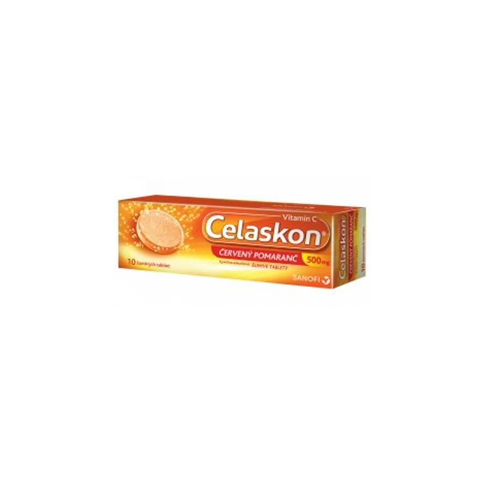 sanofi-aventis Slovakia Celaskon 500 mg červený pomaranč 10 tbl eff