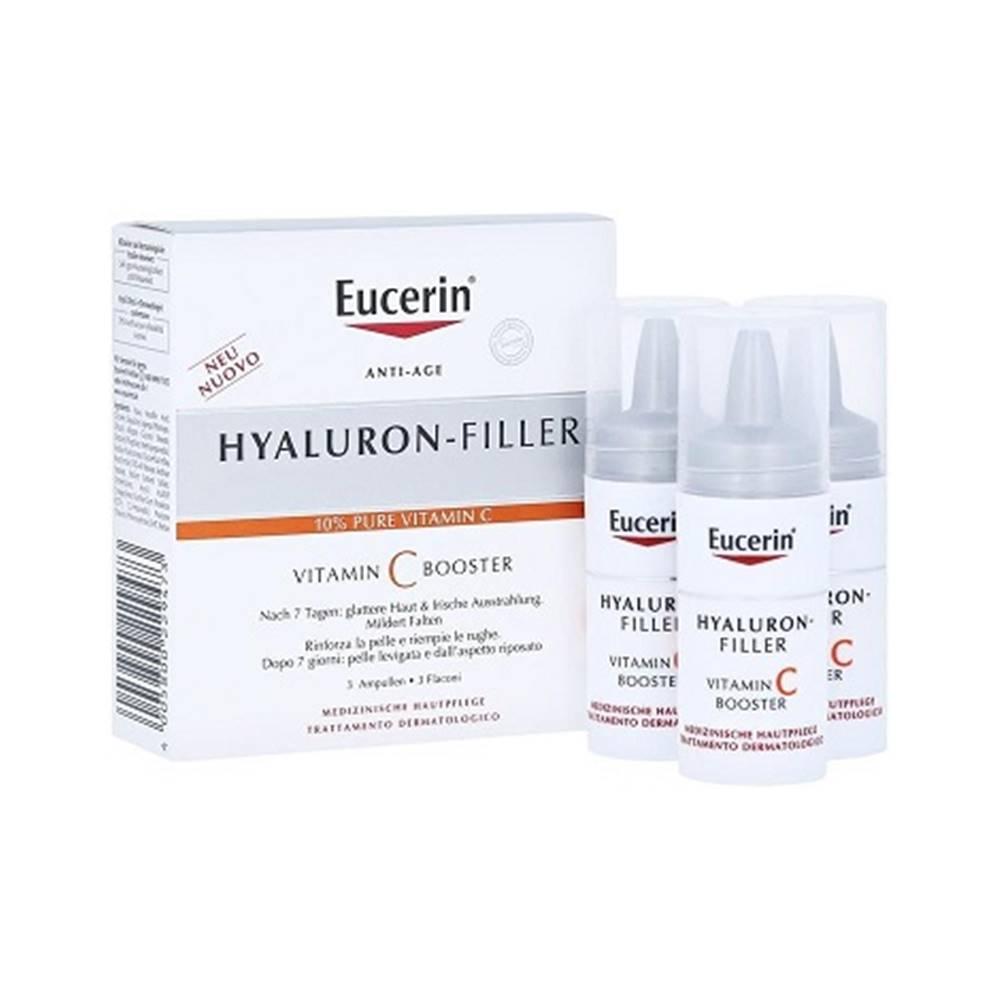 BEIERSDORF AG Eucerin HYALURON-FILLER Vitamin C booster 3x8 ml