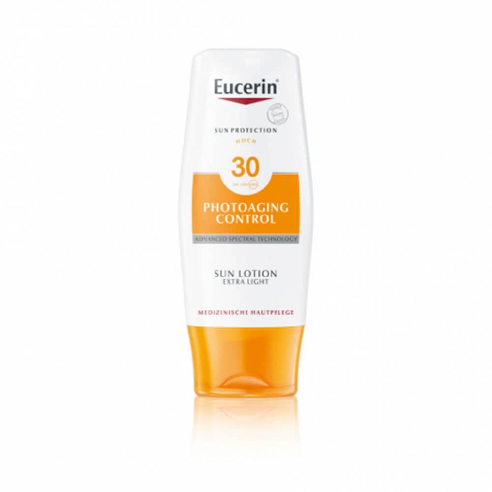 Beiersdorf Eucerin SuN Photoaging Control SPF 30+ extra ľahké mlieko 150ml
