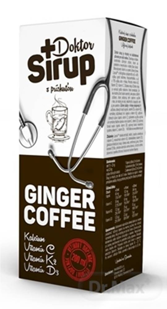 Dr.Sirup Doktor Sirup kalciový sirup