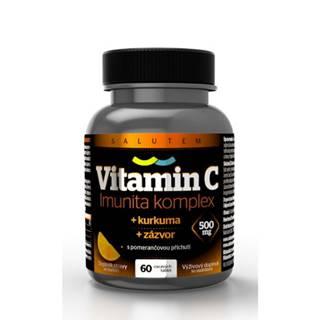 VITAMÍN C 500 mg Imunita komplex SALUTEM 60 kapsúl